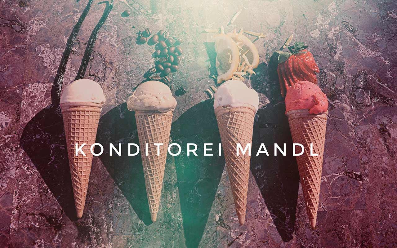 Eiszeit Konditorei Mandl