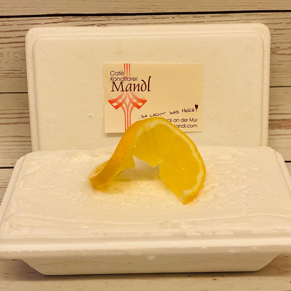 Café Konditorei Mandl Zitronen Eis Box