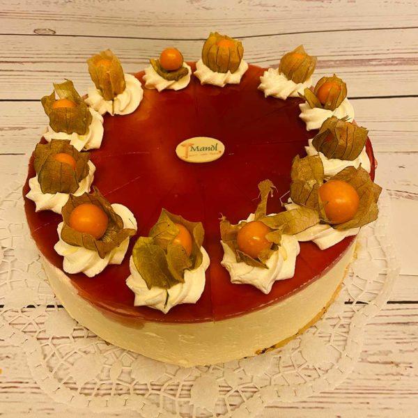 Topfen-Mohn-Torte